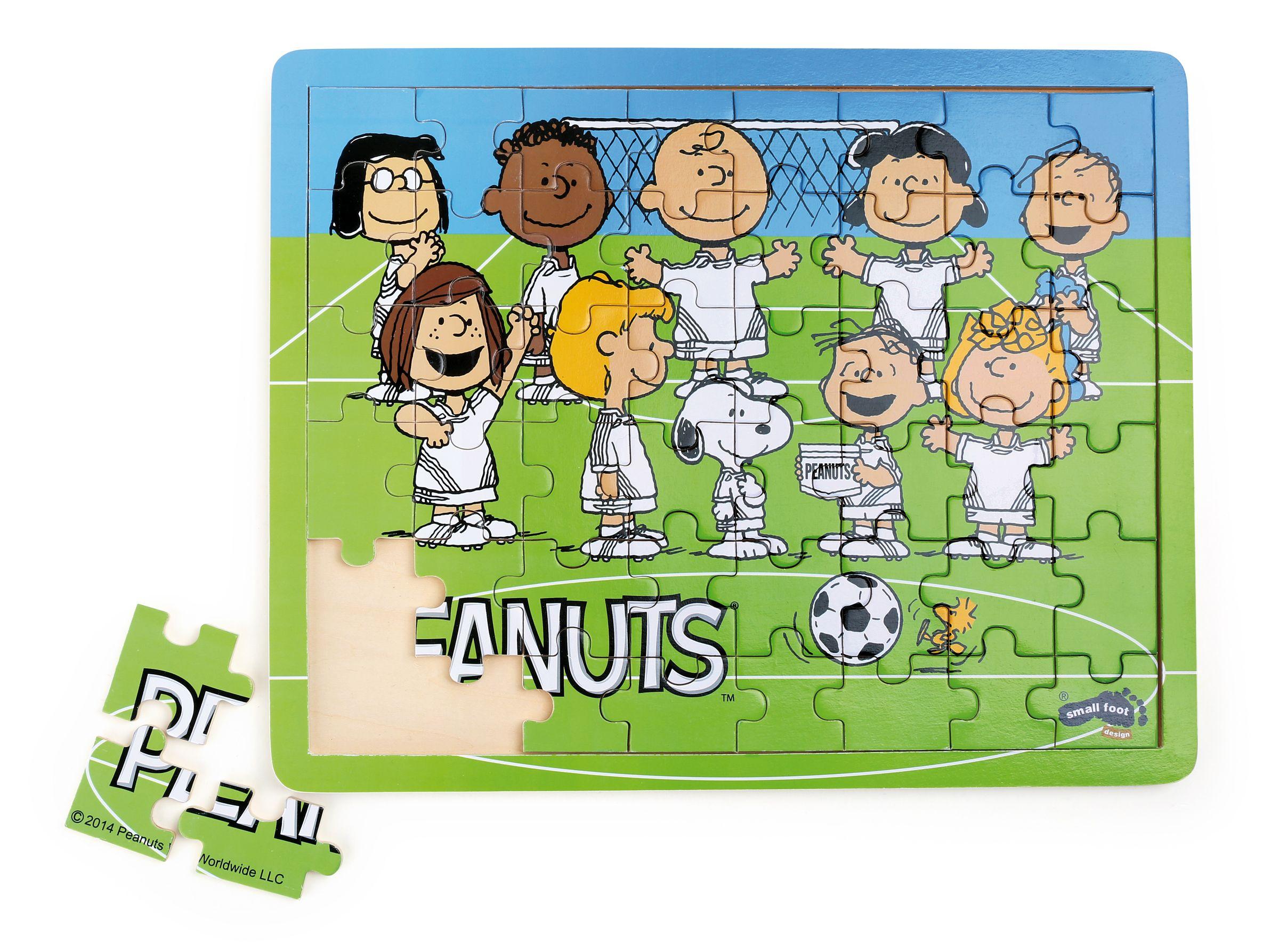 Fussball Puzzle Peanuts